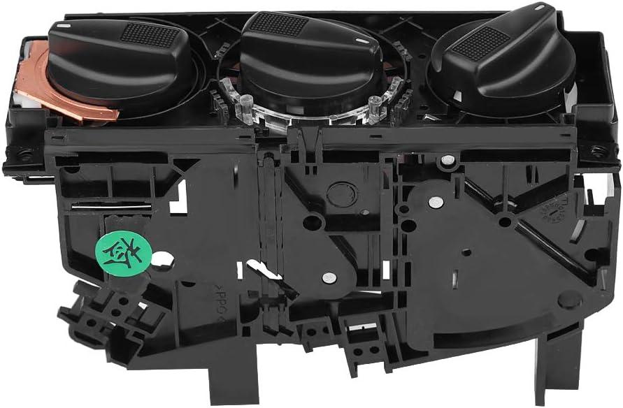 Fydun 1H0820045D Control del interruptor del calentador del aire acondicionado del coche para MK3 VENTO EUROVAN Interruptor del calentador de aire del coche