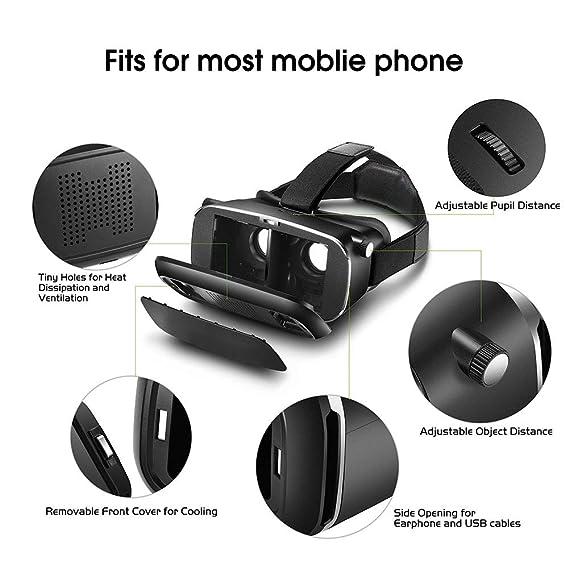 Amazon com: GEARSONE V2 Virtual Reality Headset with