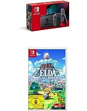 Nintendo Switch Konsole - Grau (neue Edition) + The Legend of Zelda: Link's Awakening [Nintendo Switch]