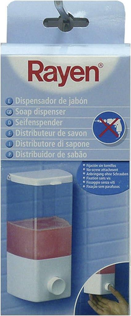 Rayen Dispensador de jab/ón 1 Compartimento Blanco
