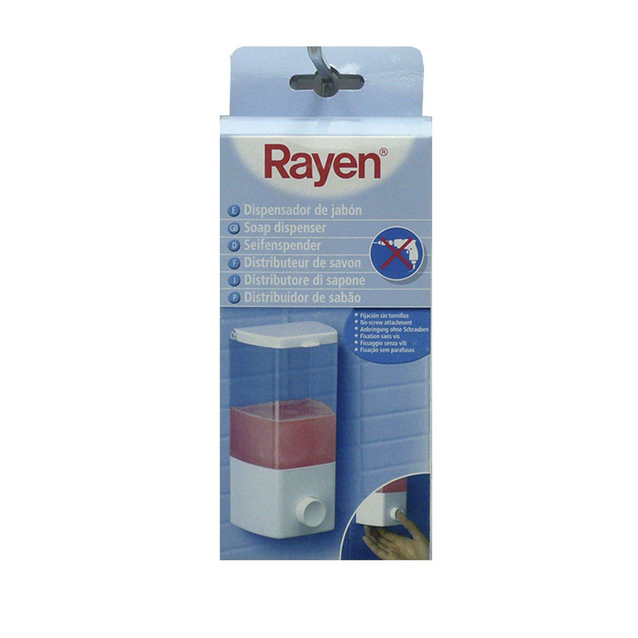 Amazon.com: Rayen 2025 Wall-Mounted Automatic Soap Dispenser: Home & Kitchen