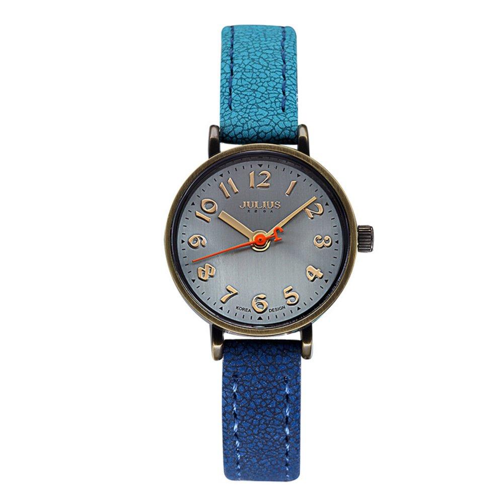 シンプルなSubdial Watchレザー/レディースクォーツwatch-a B01LEIN7ME