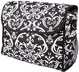 Black Damask Diaper Bag w Change Pad, Baby & Kids Zone
