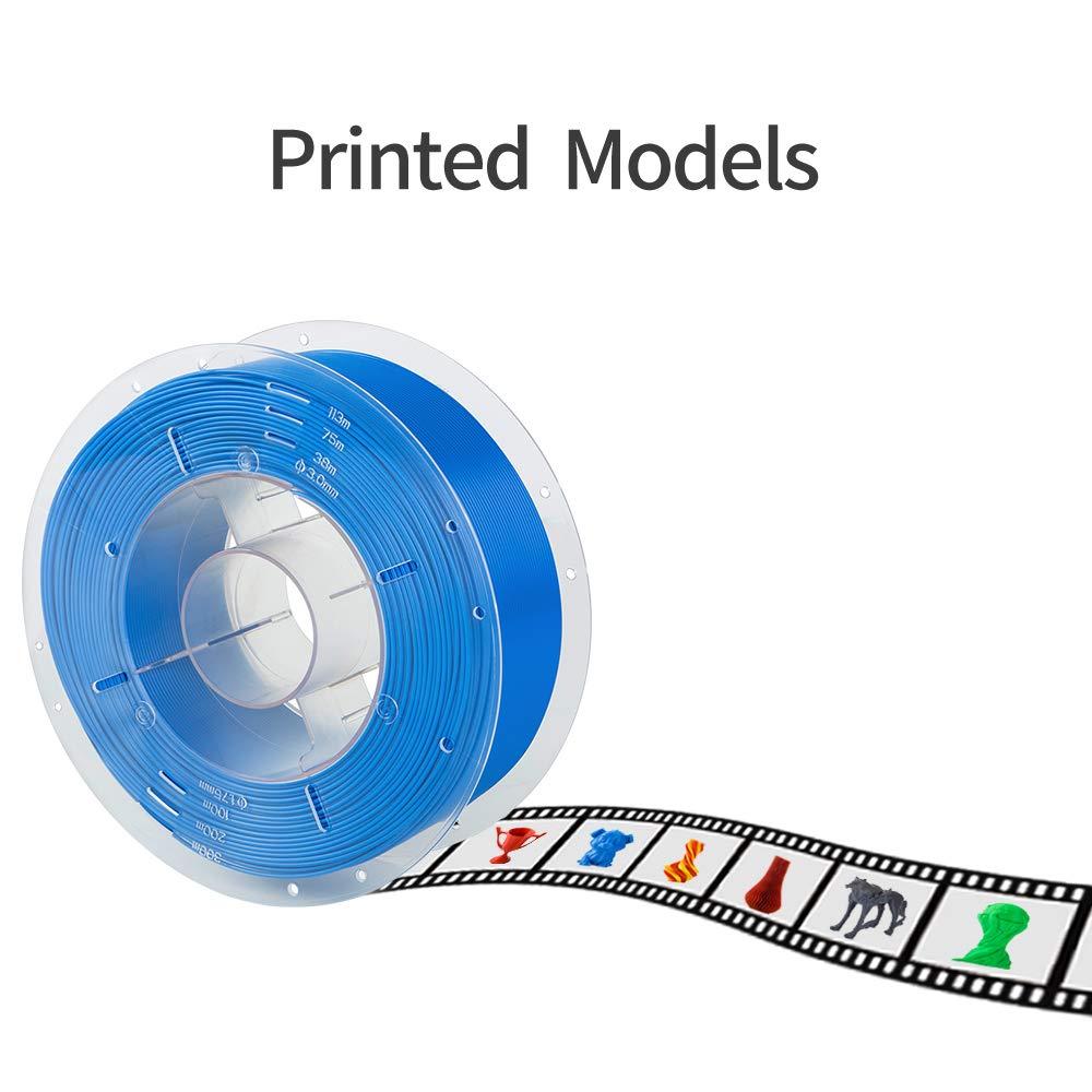Comgrow Impresora 3D PLA Filamento 1.75mm 1KG Amarillo