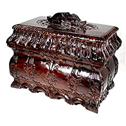 Madison Luxe Collection Mahogany Jewelry /Tea Box