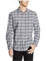Calvin Klein Men's Long Sleeve Plaid Shirt (Many Size/ Color)