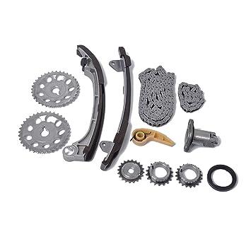 Sunlera Enlaces 52/134 eslabón de la Cadena de Engranajes de distribución del Kit Compatible para 01-15 Toyota Scion 2.0 2.4 1AZFE 2AZFE 2AZFXE: Amazon.es: ...