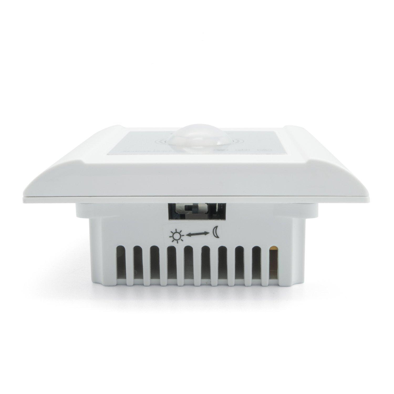 Einbau Bewegungsmelder Sensor Lichtschalter für alle Lichtquellen im ...