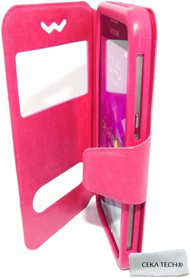 Housse Etui Compatible avec SFR ALTICE S31 Couleur Rose CEKATECH/® Universelle Protection de qualit/é