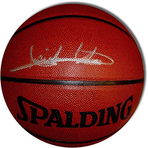 Isiah Thomas Signed Autographed Indoor/Outdoor Spalding Basketball Pistons COA