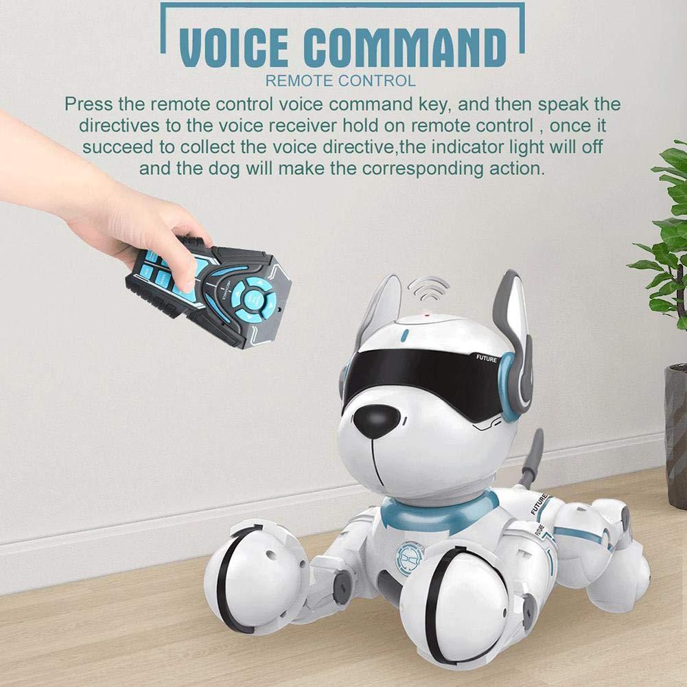 Smart Dancing Robot Toy p/ädagogische imitiert Tiere Mini Pet Puppy Robot RC Hund Roboter Spielzeug f/ür Kinder 3,4,5,6,7,8,9,10 Jahre und /älter Fernbedienung Roboter Hundespielzeug f/ür Kinder