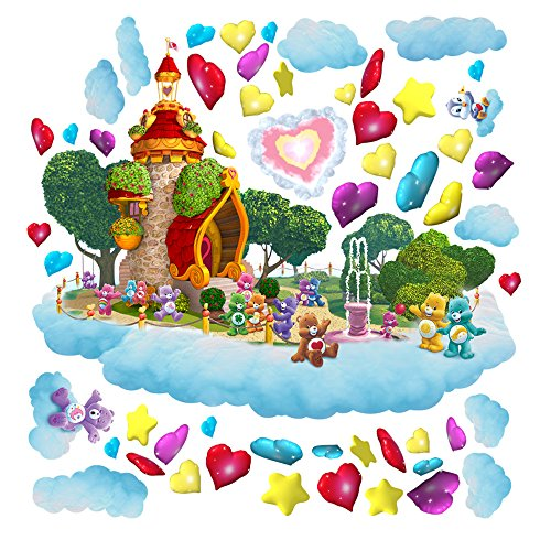 (Care Bears Lighthouse Large Wall Decal Set)