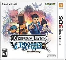 Professor Layton Vs. Phoenix Wright:  Ace Attorney   3 Ds [Digital Code] by By          Capcom