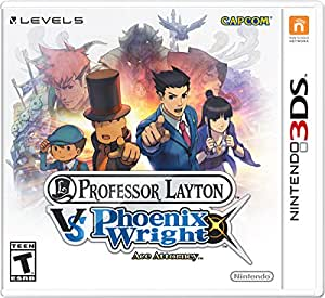 Professor Layton vs. Phoenix Wright Ace Attorney - Nintendo 3DS