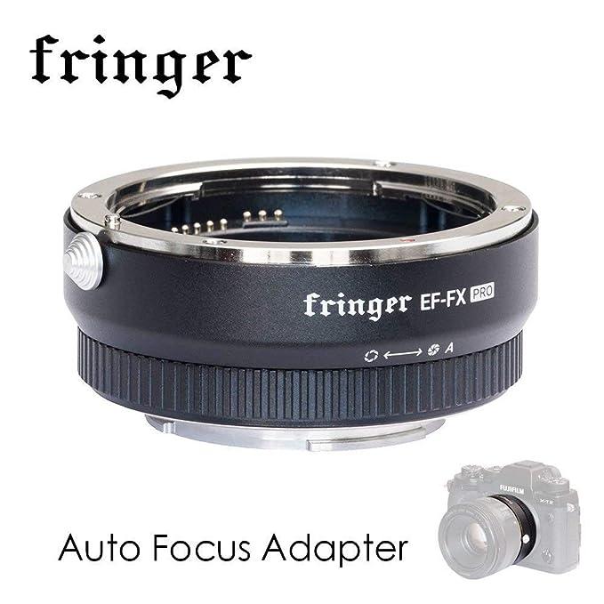 EF-fx Pro Version Autofokus Mount Adapter integrierte Elektronische Blende für Canon EF EOS Tamron Sigma Objektiv zu Fujifilm