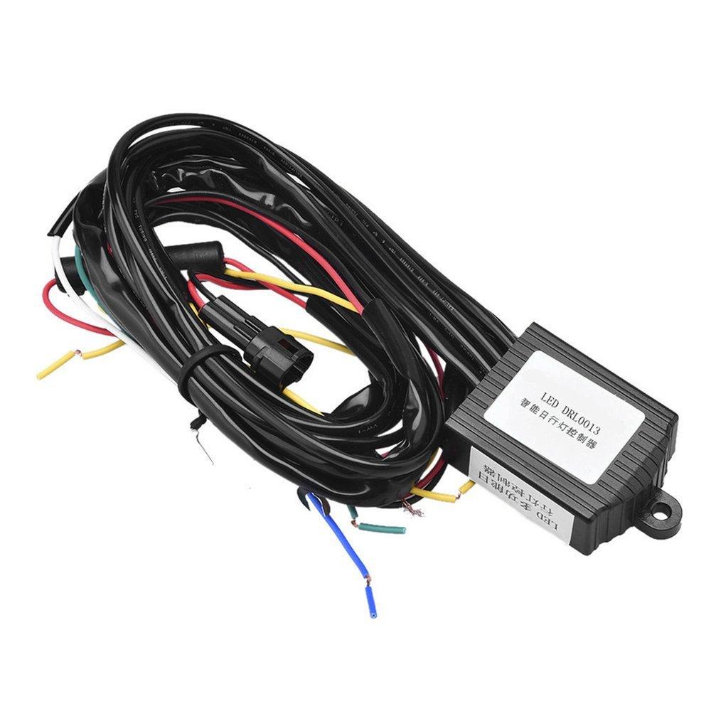 Dimmer multifunzione diurno a LED per il controllo del cablaggio della luce diurna (colore: multicolore) Dailyinshop