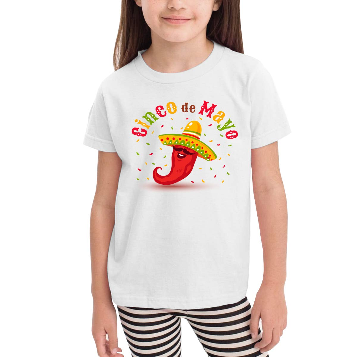 Chili in Mexico Toddler Boys Girls Short Sleeve T Shirt Kids Summer Top Tee 100/% Cotton Clothes 2-6 T