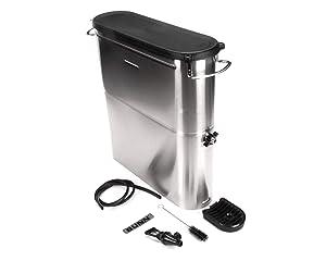 Bunn 39600.0002 Brew Through Narrow Oval Iced Tea Dispenser, 4 gal