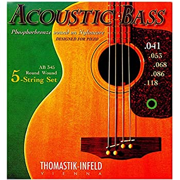 thomastik infeld ab344 bass guitar strings acousticore 34 inch scale 4 string set g. Black Bedroom Furniture Sets. Home Design Ideas