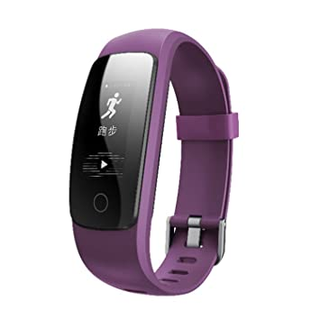 Hangang ID107Plus HR Aptitud Relojes ID107Plus Bluetooth Smart Wireless Pulsera podómetro Entrenamiento Rastreador SmartWatch Monitor de Ritmo cardíaco ...