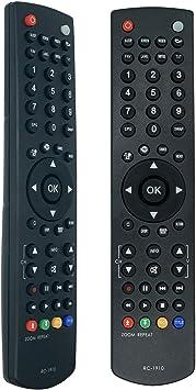 Nuevo Reemplazar Mando a Distancia RC1910 Remote Control del para Toshiba LCD LED Plasma TV, No es Necesario Configurar un Control Remoto Universal: Amazon.es: Electrónica
