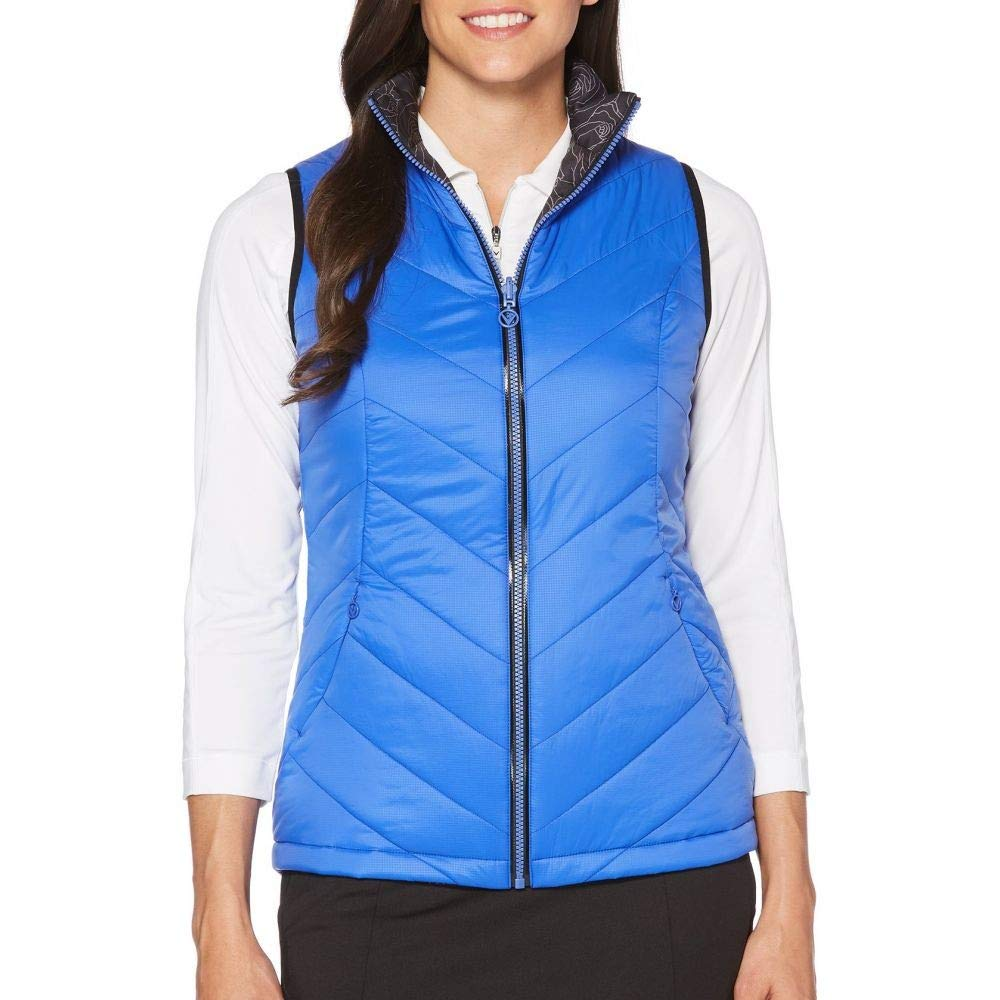 (キャロウェイ) Callaway レディース ゴルフ トップス Callaway Thermal Quilted Reversible Golf Vest [並行輸入品]   B07N8PMDY3