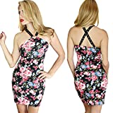 Search : Demi Loon Floral Cute Punk Goth DIY Biker Sexy Vegas Harness Pinup Mini Party Dress
