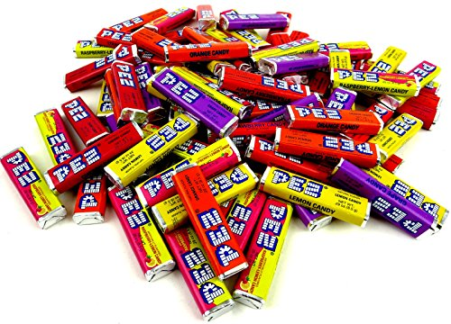 PEZ Candy Refills - Assorted Fruit Flavors, 2 Lb Bulk Bag made in New England