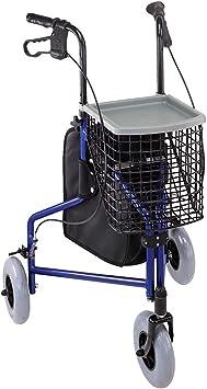 Amazon.com: Andador de 3 ruedas Duro-Med, de aluminio, 802 ...