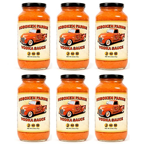Hoboken Farms Big Boss Vodka Sauce (6 Pack) by Hoboken Farms