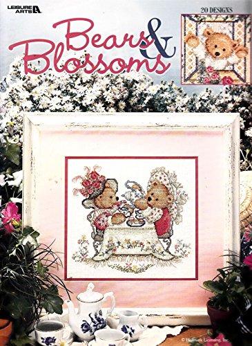 Bears & Blossoms 20 Cross Stitch Designs