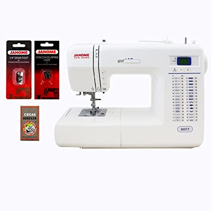 Amazon Janome 40 Computerized Sewing Machine With Accessories Cool Janome Sewing Machine Prices In Pakistan