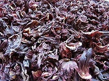 Amazoncom Hibiscus Flower Leaves Olivenation 8 Oz Herbal Teas