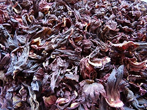 Amazoncom Hibiscus Flower Leaves Olivenation 8 Oz Herbal Teas