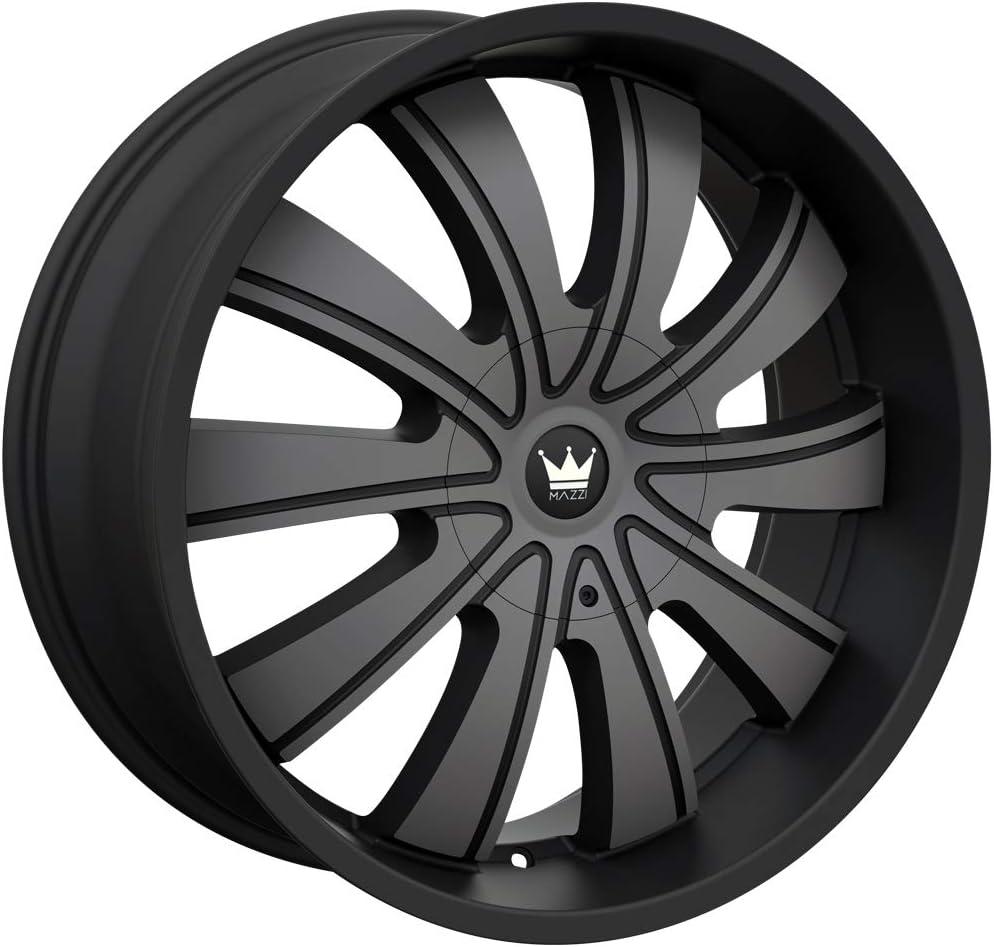 Mazzi Wheels 374-24937TM Rolla 374 Matte Black Machined W//Dark Tint 24X9.5 6-135//6-139.7 30mm 106mm