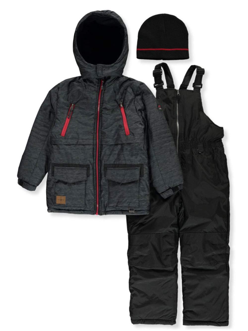 iXtreme Boys' Big Better Snowsuit, Black, 14/16 by iXtreme