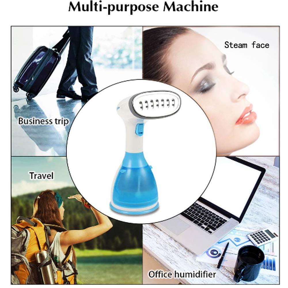 Portable Garment Steamers for Clothes Irons Handheld 1100W Mini Steam Iron Clothing Wrinkle Remove Fabric Travel Steamer 15s Fast Heat-up 100% Safe Ironing 280ml High Capacity Suitable for Home Travel by MAYWAY