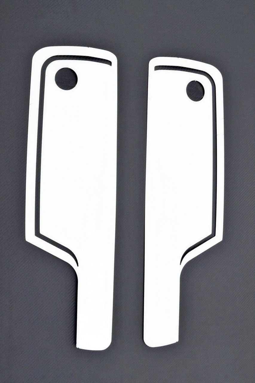 2 X Edelstahl Außenspiegel Rückseite Seitenschutz Dekoration Für Actros Mp4 Lkw Auto