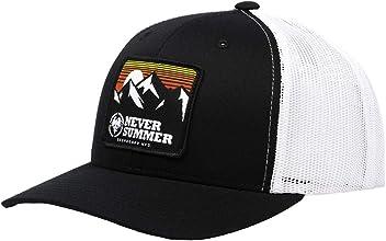 96c9746ee4a Never Summer Retro Mountain Trucker Hat
