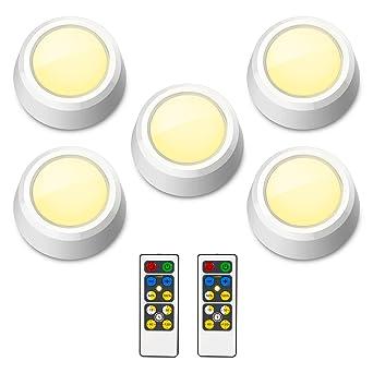 Cabinet D'escalier Sans Lampe Et Réglable Télécommande Minuterie À Fil De Avec Placard Honwell Luminosité Préréglé Led wknO80P