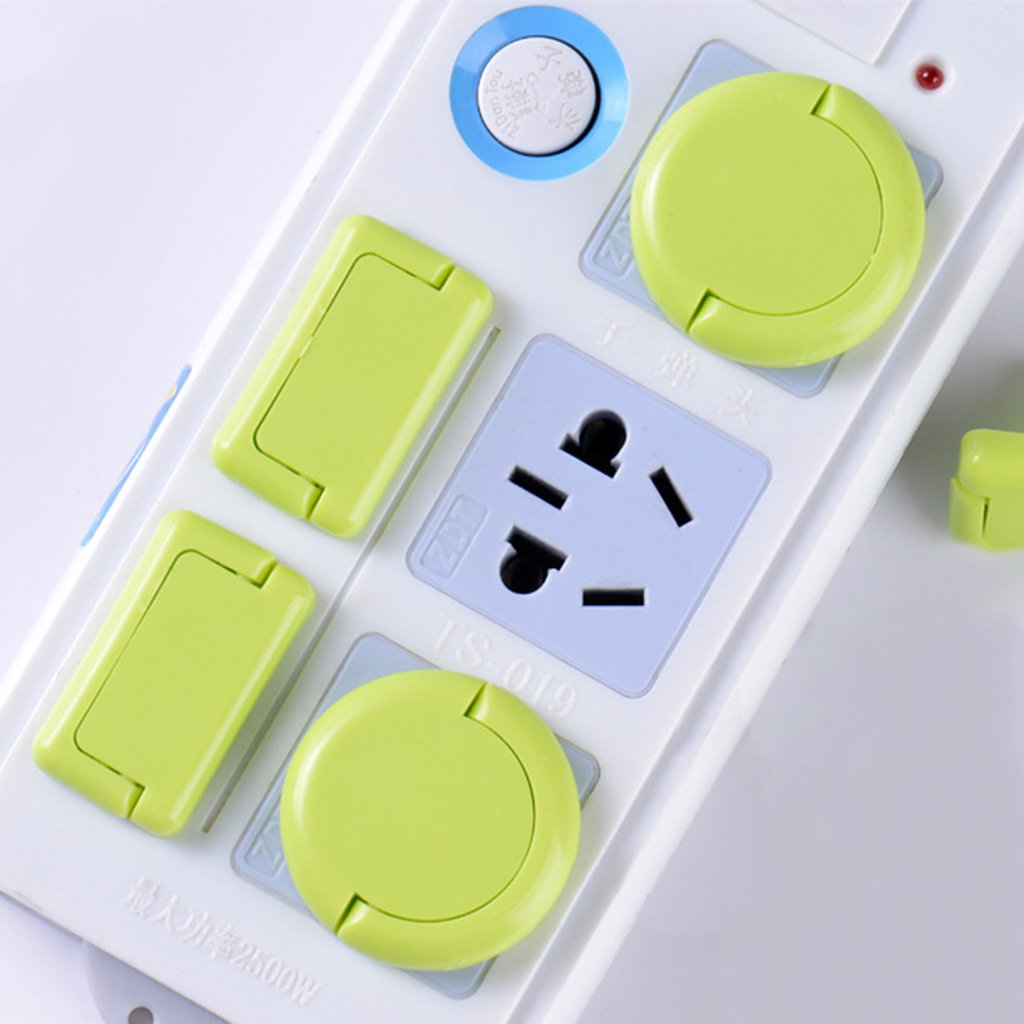 6 Pcs 2//3 Child Proof Electrical Protector Safety Caps Kid Security Products Jesse Baby Safety Socket Cap