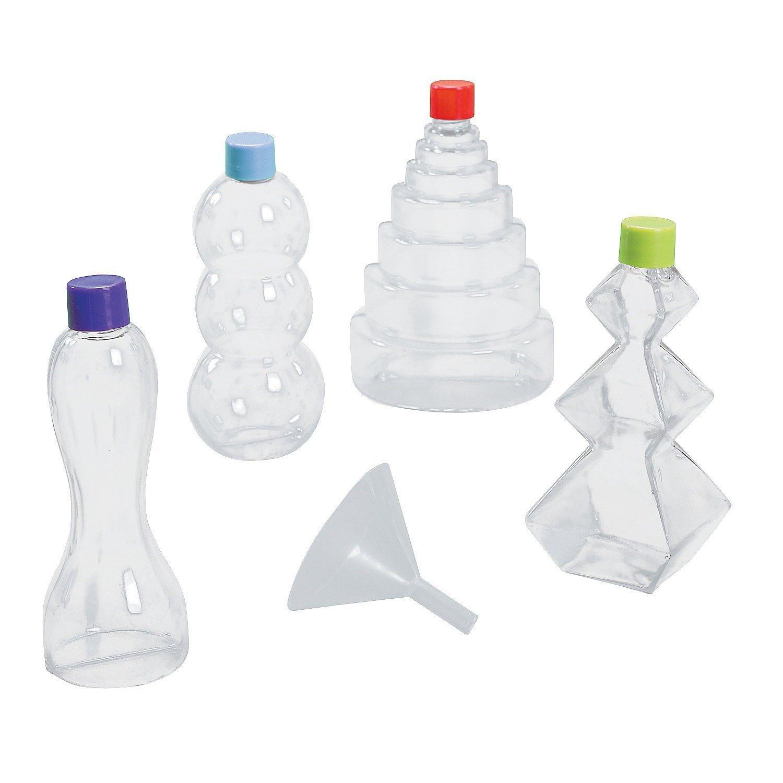 24 Pack Fun Express Funny Sand Art Bottles Crafts for Kids Sand Art