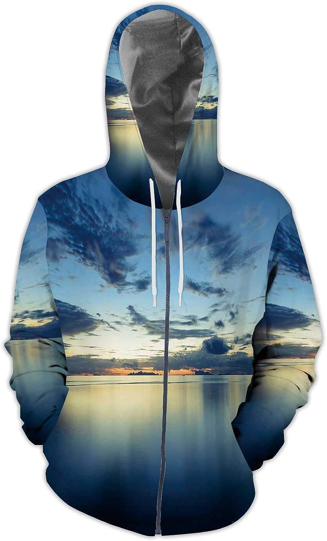 C COABALLA Gold Blurred Background Illustration USA,Mens Print 3D Fashion Hoodies Sweatshirts Gold S