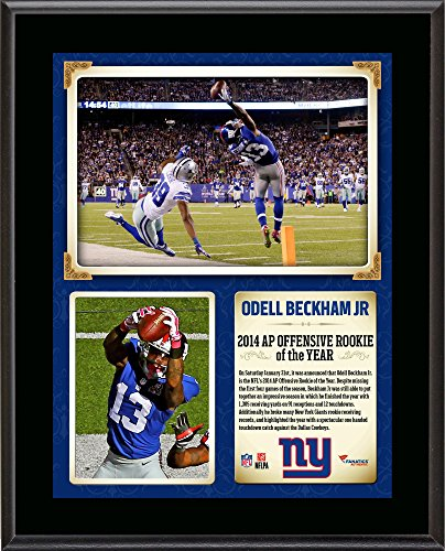 Beckham Giants Offensive Rookie Sublimated