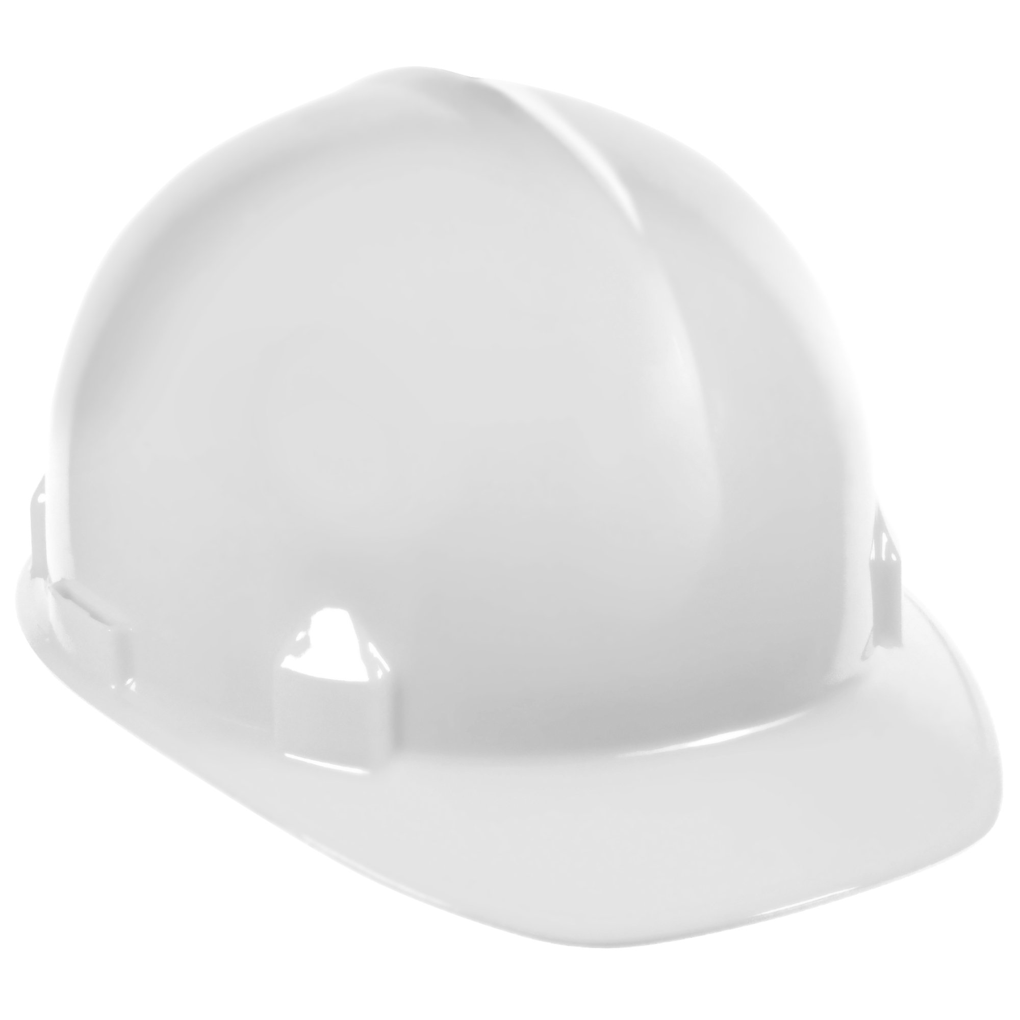 Jackson Safety SC-6 Hard Hat (14834), 4-Point Ratchet Suspension, Smooth Dome, Meets ANSI, White, 12 / Case