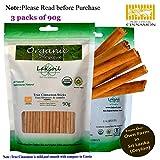 Certified Organic 270g/9.64oz Ceylon Ceylon/True Cinnamon ALBA Grade Sticks (Sulphur Free)