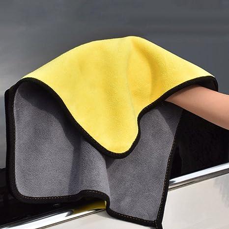 AZX 2 pcs Toalla de Microfibra para Limpieza de Coche, Limpieza Paños Perfecto para Lavado