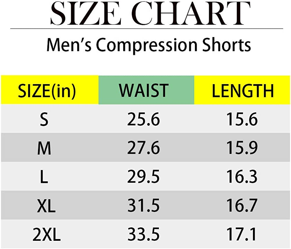 KAMINAM Mens 3 Pack Compression Shorts Active Base Layer Tights Cool Dry Undershorts for Running Workout Training