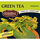 Celestial Seasonings Green Tea, Authentic, 40 Count (Pack of 6)