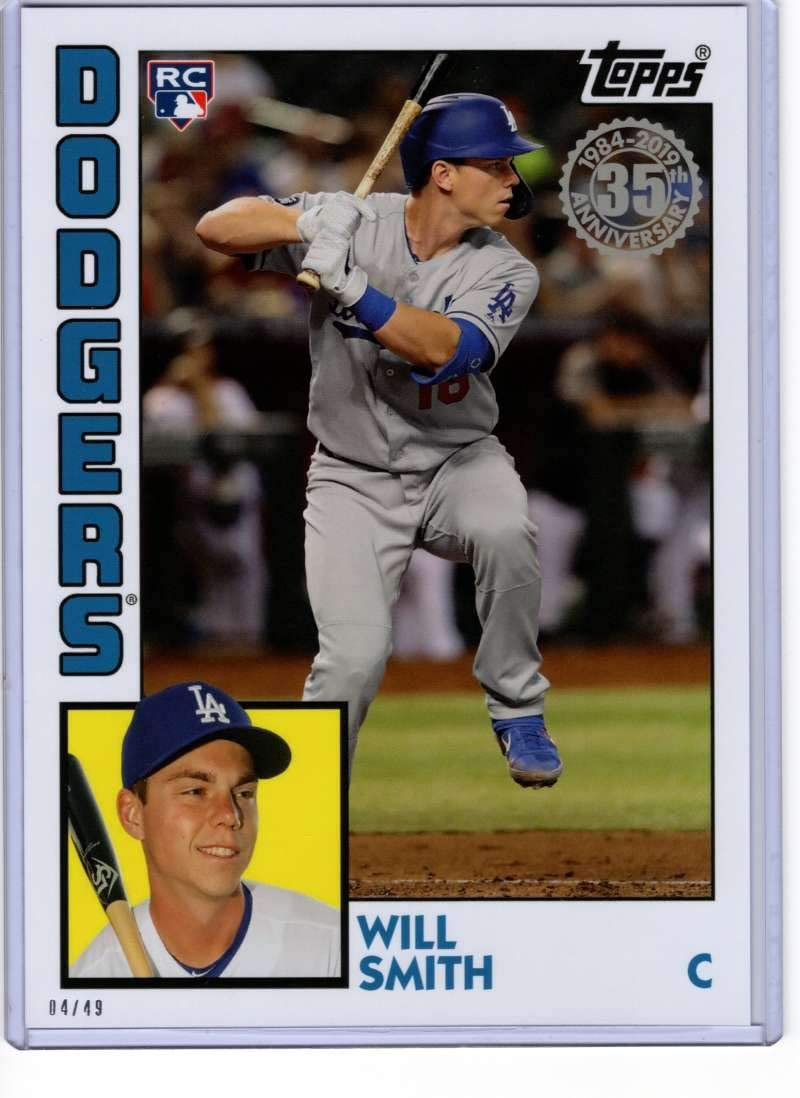 Only 683 made! 2019 Topps Now Baseball #730 Will Smith Rookie Card Dodgers